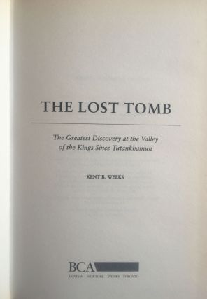 The lost tomb. The greatest discovery at the Valley of the Kings since Tutankhamun[newline]M1709-01.jpg