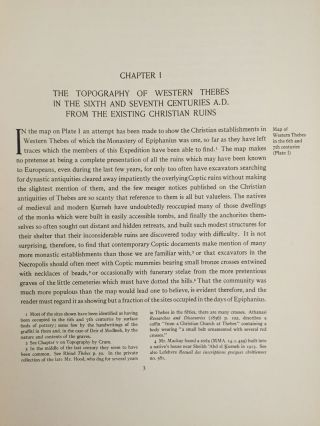 The monastery of Epiphanius at Thebes. Vol. I & II (complete set)[newline]M1748-15.jpg