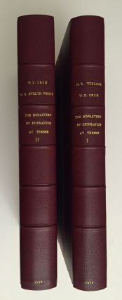 The monastery of Epiphanius at Thebes. Vol. I & II (complete set). WINLOCK Herbert E. - CRUM...[newline]M1748.jpg
