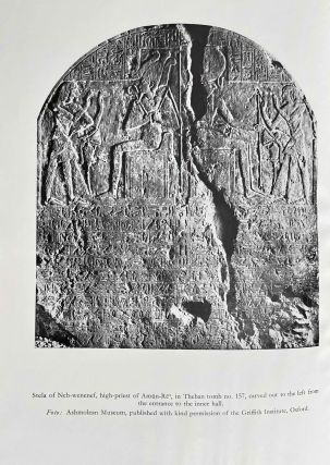 An ancient Egyptian crossword puzzle. An Inscription of Neb-wenenef from Thebes.[newline]M1769d-02.jpeg