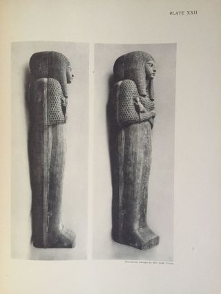 The tomb of Queen Meryet-Amun at Thebes. Photographs by Harry Burton; plans by Walter Hauser and catalogue by Charlotte R. Clark.[newline]M1823b-21.jpg