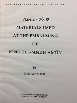 Materials Used at the Embalming of King Tut-'Ankh-Amun[newline]M1827a-02.jpg