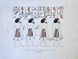 Narrative of the Operations and Recent Discoveries within the Pyramids, Temples, Tombs, and Excavations, in Egypt and Nubia; and of a Journey to the Coast of the Red Sea, in Search of the Ancient Berenice; and Another to the Oasis of Jupiter Ammon, with Plates illustrative of the researches and operations of G. Belzoni in Egypt and Nubia.[newline]M1874a-47.jpeg