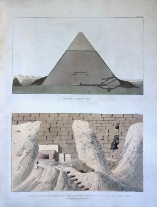 Narrative of the Operations and Recent Discoveries within the Pyramids, Temples, Tombs, and Excavations, in Egypt and Nubia; and of a Journey to the Coast of the Red Sea, in Search of the Ancient Berenice; and Another to the Oasis of Jupiter Ammon, with Plates illustrative of the researches and operations of G. Belzoni in Egypt and Nubia.[newline]M1874a-48.jpeg
