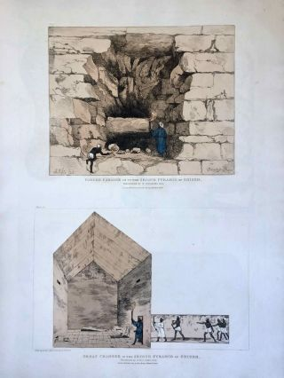 Narrative of the Operations and Recent Discoveries within the Pyramids, Temples, Tombs, and Excavations, in Egypt and Nubia; and of a Journey to the Coast of the Red Sea, in Search of the Ancient Berenice; and Another to the Oasis of Jupiter Ammon, with Plates illustrative of the researches and operations of G. Belzoni in Egypt and Nubia.[newline]M1874a-49.jpeg