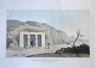 Narrative of the Operations and Recent Discoveries within the Pyramids, Temples, Tombs, and Excavations, in Egypt and Nubia; and of a Journey to the Coast of the Red Sea, in Search of the Ancient Berenice; and Another to the Oasis of Jupiter Ammon, with Plates illustrative of the researches and operations of G. Belzoni in Egypt and Nubia.[newline]M1874a-54.jpeg