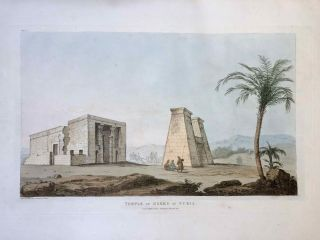 Narrative of the Operations and Recent Discoveries within the Pyramids, Temples, Tombs, and Excavations, in Egypt and Nubia; and of a Journey to the Coast of the Red Sea, in Search of the Ancient Berenice; and Another to the Oasis of Jupiter Ammon, with Plates illustrative of the researches and operations of G. Belzoni in Egypt and Nubia.[newline]M1874a-55.jpeg