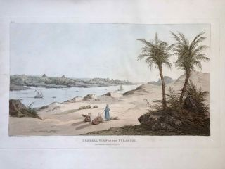 Narrative of the Operations and Recent Discoveries within the Pyramids, Temples, Tombs, and Excavations, in Egypt and Nubia; and of a Journey to the Coast of the Red Sea, in Search of the Ancient Berenice; and Another to the Oasis of Jupiter Ammon, with Plates illustrative of the researches and operations of G. Belzoni in Egypt and Nubia.[newline]M1874a-56.jpeg