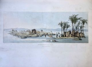 Narrative of the Operations and Recent Discoveries within the Pyramids, Temples, Tombs, and Excavations, in Egypt and Nubia; and of a Journey to the Coast of the Red Sea, in Search of the Ancient Berenice; and Another to the Oasis of Jupiter Ammon, with Plates illustrative of the researches and operations of G. Belzoni in Egypt and Nubia.[newline]M1874a-60.jpeg