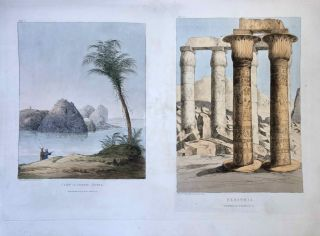 Narrative of the Operations and Recent Discoveries within the Pyramids, Temples, Tombs, and Excavations, in Egypt and Nubia; and of a Journey to the Coast of the Red Sea, in Search of the Ancient Berenice; and Another to the Oasis of Jupiter Ammon, with Plates illustrative of the researches and operations of G. Belzoni in Egypt and Nubia.[newline]M1874a-61.jpeg