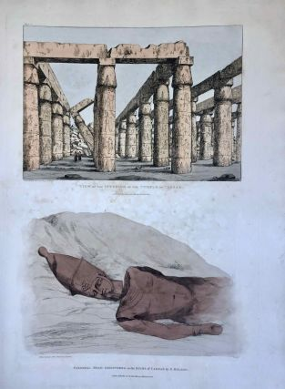 Narrative of the Operations and Recent Discoveries within the Pyramids, Temples, Tombs, and Excavations, in Egypt and Nubia; and of a Journey to the Coast of the Red Sea, in Search of the Ancient Berenice; and Another to the Oasis of Jupiter Ammon, with Plates illustrative of the researches and operations of G. Belzoni in Egypt and Nubia.[newline]M1874a-62.jpeg