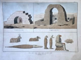 Narrative of the Operations and Recent Discoveries within the Pyramids, Temples, Tombs, and Excavations, in Egypt and Nubia; and of a Journey to the Coast of the Red Sea, in Search of the Ancient Berenice; and Another to the Oasis of Jupiter Ammon, with Plates illustrative of the researches and operations of G. Belzoni in Egypt and Nubia.[newline]M1874a-73.jpeg