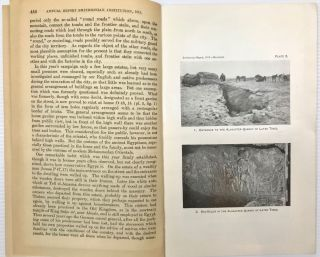 Excavations at Tell el-Amarna, Egypt, in 1913-1914. (From the Smithsonian Report for 1915.)[newline]M1902a-03.jpg