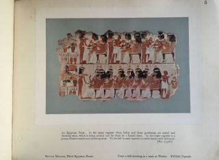 Wall decorations of Egyptian tombs. Illustrated from examples in the British Museum.[newline]M1911-05.jpg