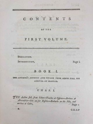 Travels to Discover the Source of the Nile, in the Years 1768, 1769, 1770, 1771, 1772, & 1773 (5 volumes, complete set)[newline]M1913-005.jpg
