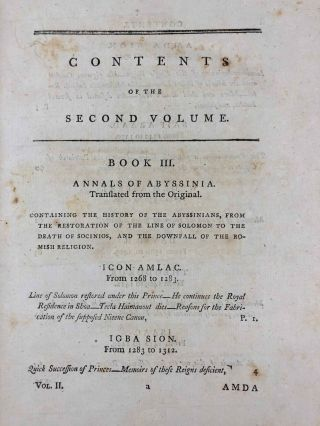 Travels to Discover the Source of the Nile, in the Years 1768, 1769, 1770, 1771, 1772, & 1773 (5 volumes, complete set)[newline]M1913-026.jpg