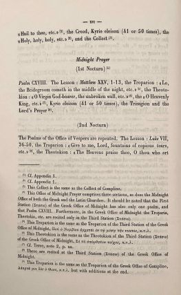 The Horologion of the Egyptian Church. Coptic and Arabic text from a mediaeval manuscript. Translated and annotated by O.H.E. KHS-BURMESTER.[newline]M2167-14.jpeg