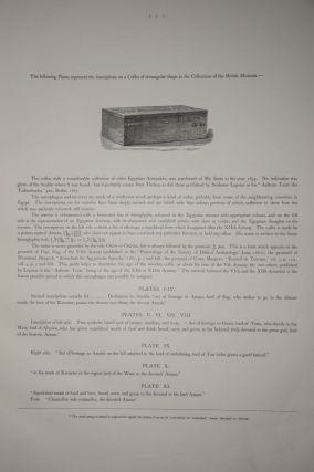 Egyptian Texts of the Earliest Period from the Coffin of Amamu in the British Museum[newline]M2227-04.jpg