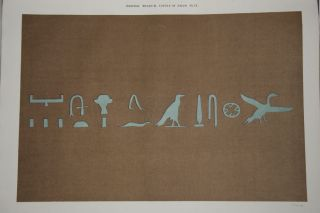 Egyptian Texts of the Earliest Period from the Coffin of Amamu in the British Museum[newline]M2227-05.jpg