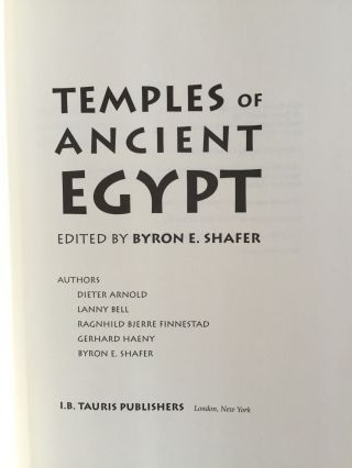 Temples of Ancient Egypt. ron E[newline]M2267a-01.jpg