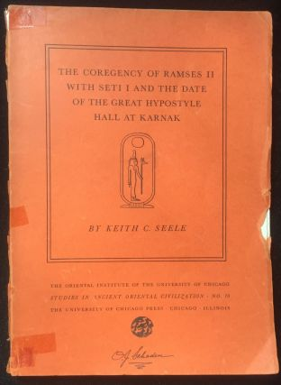 The Coregency of Ramses II with Seti I and the Date of the Great Hypostyle Hall at Karnak. SEELE...[newline]M2326a.jpg