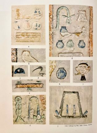 The Decoration of the Tomb of Per-Neb. The technique and the color conventions.[newline]M2381b-03.jpeg