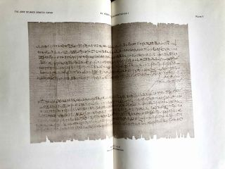Catalogue of the demotic papyri in the John Rylands Library in Manchester. Vol. I: Atlas of Facsimiles. Vol. II: Hand-Copies of the ealier documents (Nos. I-IX). Vol. III: Key-list, translations, commentaries and indices (complete set)[newline]M2430-05.jpeg