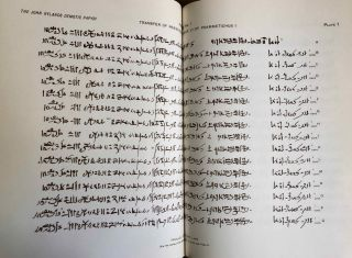 Catalogue of the demotic papyri in the John Rylands Library in Manchester. Vol. I: Atlas of Facsimiles. Vol. II: Hand-Copies of the ealier documents (Nos. I-IX). Vol. III: Key-list, translations, commentaries and indices (complete set)[newline]M2430-10.jpeg