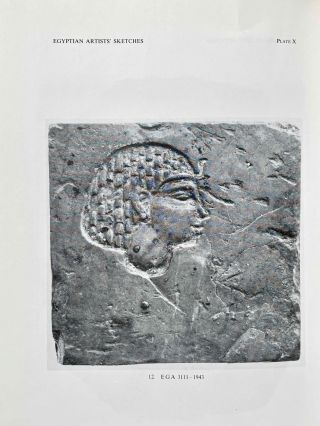 Egyptian Artists' Sketches. Figured ostraka from the Gayer-Anderson Collection in the Fitzwilliam Museum, Cambridge.[newline]M2586b-08.jpeg