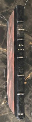 Apa Mena. A selection of Coptic texts relating to St. Menas. DRESCHER James[newline]M2667b.jpg