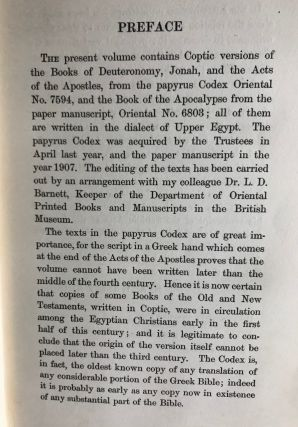 Coptic biblical texts in the dialect of Upper Egypt. Vol. 1.[newline]M2676-04.jpg
