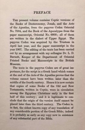 Coptic biblical texts in the dialect of Upper Egypt. Vol. 1.[newline]M2676a-05.jpg