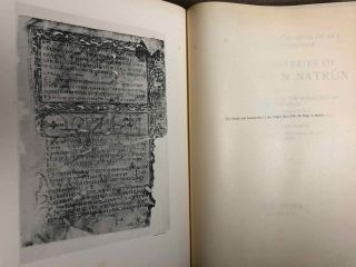 The monasteries of the Wadi 'n Natrun. Part I: New coptic texts from the monastery of Saint Macarius. Part II: The history of the monasteries of Nitria and of Scetis.[newline]M2747a-02.jpg