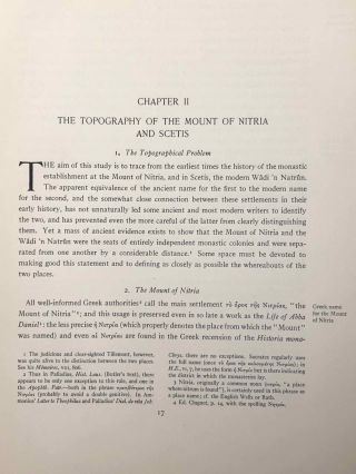 The monasteries of the Wadi 'n Natrun. Part I: New coptic texts from the monastery of Saint Macarius. Part II: The history of the monasteries of Nitria and of Scetis.[newline]M2747a-46.jpg