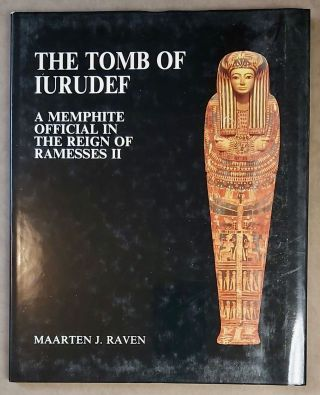 The tomb of Iurudef, a memphite official in the reign of Ramesses II. ASTON D. A. - RAVEN M. J. -...[newline]M2816a-00.jpeg