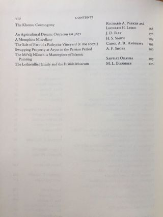 Festschrift Edwards. Pyramid Studies and Other Essays Presented to I. E. S. Edwards.[newline]M3033a-05.jpg