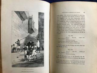 Operations carried on at the pyramids of Gizeh in 1837. With an account of a voyage in Upper Egypt and an appendix. Vol. I, II & III (complete set)[newline]M3048c-18.jpg