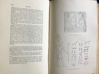 Operations carried on at the pyramids of Gizeh in 1837. With an account of a voyage in Upper Egypt and an appendix. Vol. I, II & III (complete set)[newline]M3048c-28.jpg
