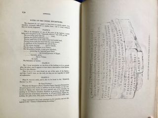 Operations carried on at the pyramids of Gizeh in 1837. With an account of a voyage in Upper Egypt and an appendix. Vol. I, II & III (complete set)[newline]M3048c-29.jpg