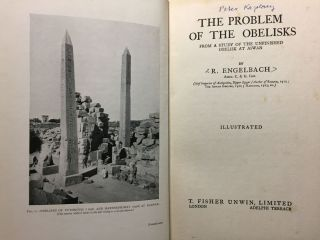 The Problem of the Obelisks, from a Study of the Unfinished Obelisk at Aswan[newline]M3052a-02.jpg