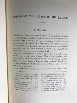 Three coptic legends. Hilaria - Archellites - The seven sleepers. Edited with translation and commentary.[newline]M3075a-08.jpg