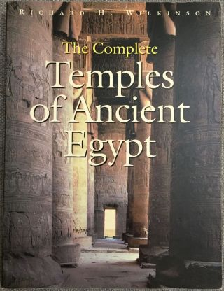 The complete Temples of Ancient Egypt. WILKINSON Richard H.[newline]M3252.jpg