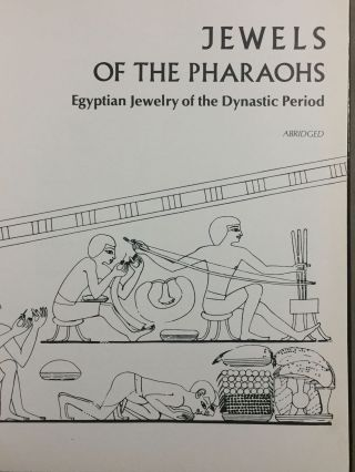 Jewels of the pharaohs. Egyptian Jewelry of the Dynastic Period (abridged version)[newline]M3328-01.jpg