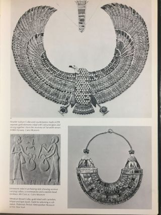 Jewels of the pharaohs. Egyptian Jewelry of the Dynastic Period (abridged version)[newline]M3328-04.jpg