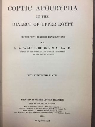 Coptic apocrypha in the dialect of Upper Egypt[newline]M3364b-03.jpg