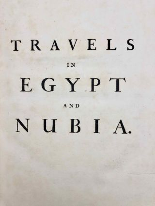 Travels in Egypt and Nubia. Volume I (only)[newline]M3394a-03.jpg