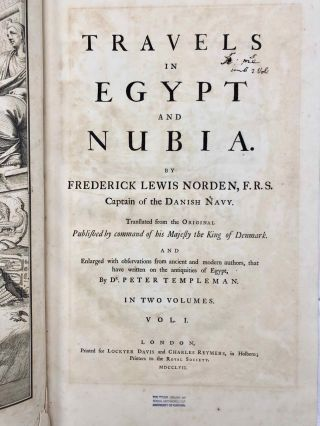 Travels in Egypt and Nubia. Volume I (only)[newline]M3394a-05.jpg