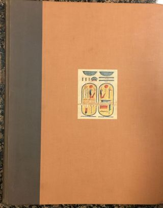 "Medinet Habu. The Epigraphic survey. Vol. III: The Calendar, the ""Slaughterhouse,"" and Minor...[newline]M3526a.jpg"