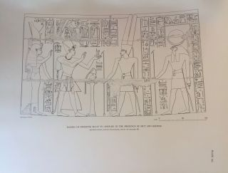 Medinet Habu. The Epigraphic survey. Vol. VI: The Temple Proper, Part II. The Re Chapel, the Royal Mortuary Complex, and adjacent rooms with miscellaneous material from the Pylons, the Forecourts, and the first Hypostyle Hall.[newline]M3529d-17.jpg