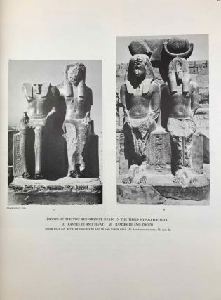 Medinet Habu. The Epigraphic survey. Vol. VII: The temple proper. Part III: The third hypostyle hall and all rooms accessible from it, with friezes of scenes from the roof terraces and exterior walls of the temple[newline]M3530b-09.jpg